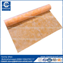 0.7-0.8mm High polymer Polyethylene Polypropylene waterproof sheet