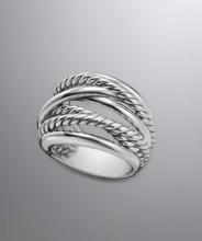 David Yurman 18.4mm Crossover Collection Ring