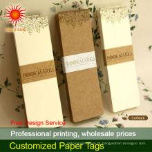 etiquetas de jóias de papel personalizado