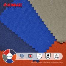 Aramid FR naturel et tissu résistant à la chaleur naturel Aramid FR et tissu résistant à la chaleur