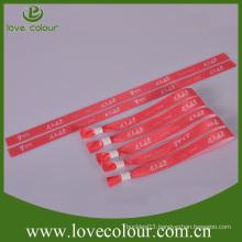 Cheap custom fashion silk wristband bracelets/wristbands in bulk