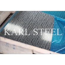 201 Cold Rolled Embossed Stainless Steel Sheet