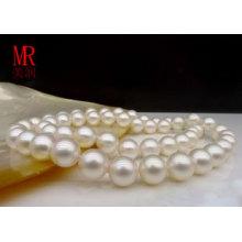 7.5-8mm collar blanco de la perla de Southsea