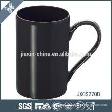 10oz X' mas design black stoneware coffee mugs porcelain mug