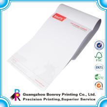Kundenspezifisches Design-Unternehmen Papier Briefkopf drucken in China