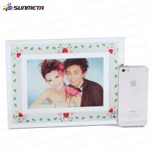 sublimation glass photo frame BL-04 180*230*5