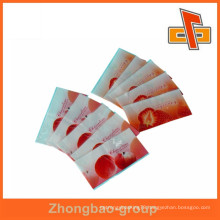 guangdong packaging materials PVC shrink sleeve for fruit juice bottle