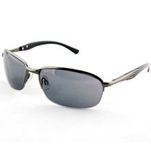 Gun Polarized Metal Fashion Sport Sunglasses for Men (14229)