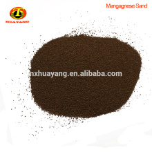 Market price manganese sand of 35%min mno2 water treatment
