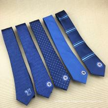 Chinesische Hersteller Herren Seide Jacquard Woven Custom bestickt Krawatte