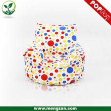 Красочные дети игры фасоль мешок 100% хлопок боб мешок стул