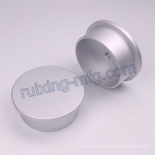 High Demanded Surface CNC Turning Lathe Aluminum Part Rear Cover