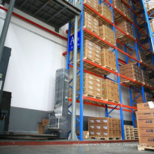 Q235 VNA heavy duty steel rack of warehouse storage solution