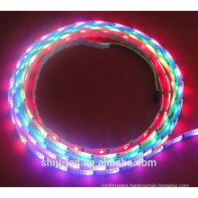 Digital Flexible addressable rgb 5v dmx led strip ws2801 for building decoration