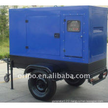 china brand trailer generator set with worldwide maintain service OEM factory
