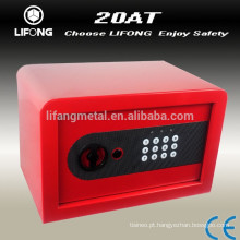 Cheaper small colorful fashion steel safety safe box with electronic lock system