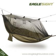 Hamac de parachute de moustiquaire de camping d'OEM