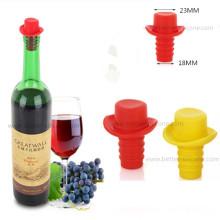 Bouchons colorés faits sur commande de bouchons de silicone de bouteille en verre de bière