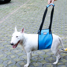 Arnês respirável do elevador do cão da malha do chicote de fios do apoio do cão fraco de ferimento mais velho