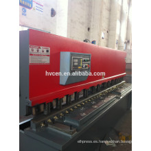 Qc12k-6 * 1300 cortadora de corte de plástico / ms 300 máquina de corte de alambre