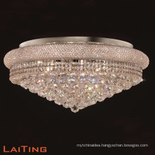 home crystal led flush mount recessed ceiling light