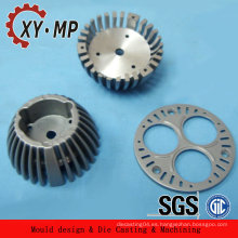 Forma modificada para requisitos particulares xiangyu Aluminio moldeado para la industria Fregadero de calor