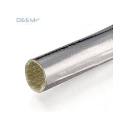 DEEM UL VW-1 reflective Fiberglass Sleeve Coated With Aluminum Foil