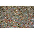 Aluminium hot fix rhinestone mesh 45*120mix colour