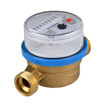 Brass Body Dry Type Single Jet Mechanical Water Meters