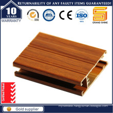 Wood Grain Aluminum Profile for Chile Market