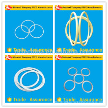 Завод по производству тефлоновых уплотнительных колец из фторопласта в Китае