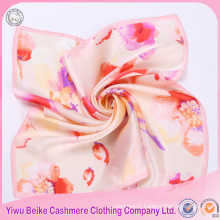 New fashion colorful silk small neck scarf