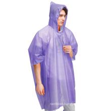 Promotional Heavy Duty Disposable Womens Rain Gear Ponchos Raincoats