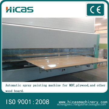 High Quality Automatic Spray Painting Machine for MDF
