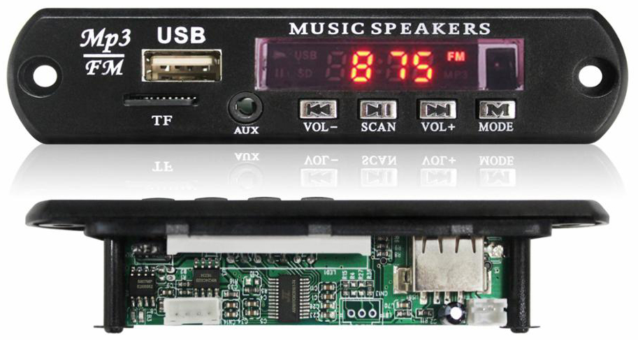 USB MP3 Player Circuit Board