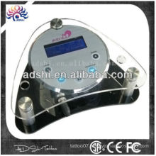 Acrylic tattoo power supply, tattoo & permanent digital machine power supply