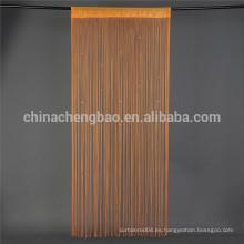 China, proveedor, varios colores, tallarines, forma, cortina