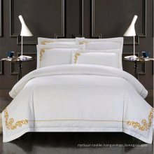 Top Quality 100% Satin Cotton Hand Embroidery Bedding Set