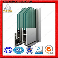 Profils en aluminium pour portes coulissantes et fenêtres