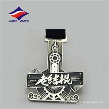Estilo antigo, elegante, design, metal, artesanal, medalha, lembrança