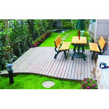 Engineered WPC Decking Flooring With Customized Color For O