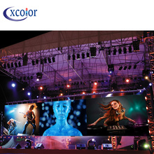 Top Suppliers for Outdoor Fixed Led Display Stage Events Background P5.95 Outdoor Rental Led Display export to United States Manufacturer