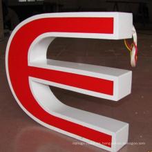 Letrero de letras LED acrílico facelit al aire libre