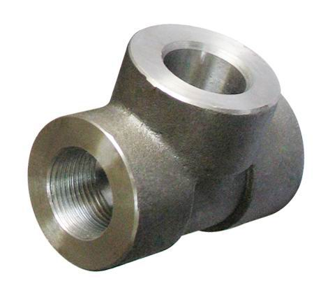 Threaded Tee Carbon Steel Pipe Fittings According to ASME B16.11