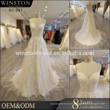 Vente populaire robe de mariée arabe saoudite fabriquée en Chine