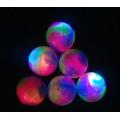 Flashing Rainbow Tri-color Bounce Ball 55MM