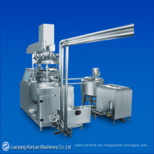 (KFDQZ) Supositorio Emulsificador de vacío Equipo de mezcla / Supresor de vacío Mezclador emulsionante