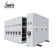Fabriquez l'étagère mobile de masse / classeur mobile / système compact d'étagère