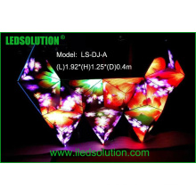 Pantalla de visualización creativa de la cabina de LED del interior del LED