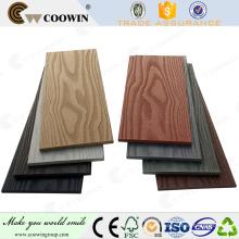 bon marché fait maison préfabriquée durable india de l'usine en plastique en bois en Chine
